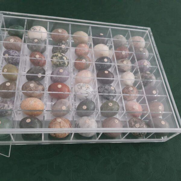 Caixa acrílico para exposição de pedras 3