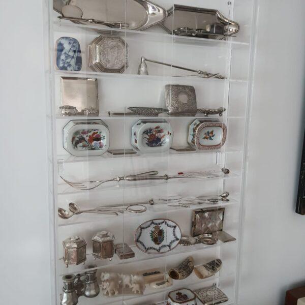Móvel parede exposição artigos